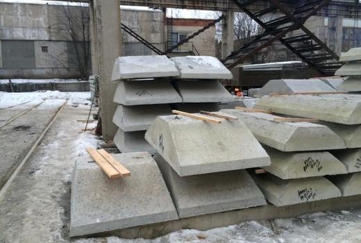 Настилочный слой - фундаментные подушки