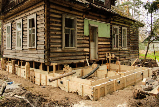 Частичная реставрация по восстановлению фундамента